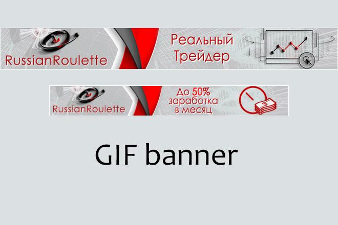 Сделаю 2 качественных gif баннера 45 - kwork.ru