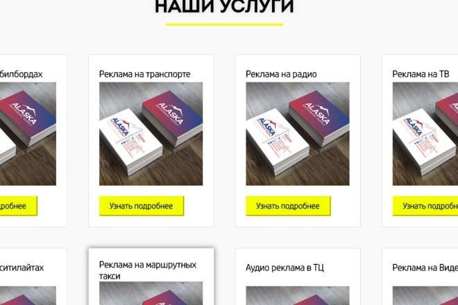 Создам лендинг на вордпресс 24 - kwork.ru