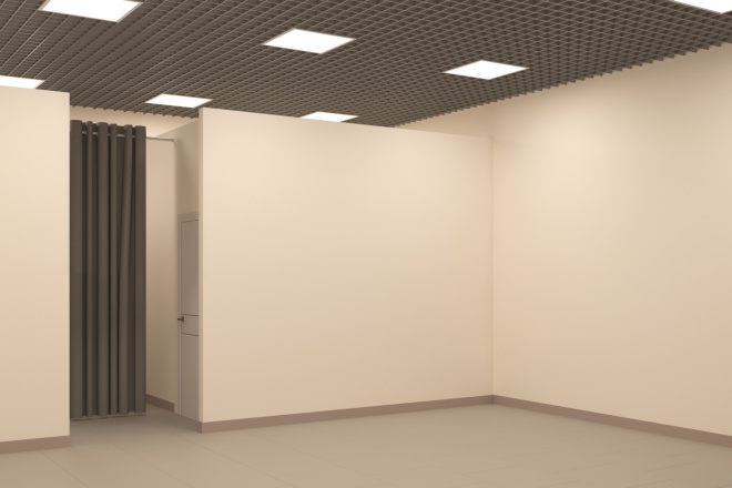 Создание 3д модели помещения по 2д чертежу 2 - kwork.ru