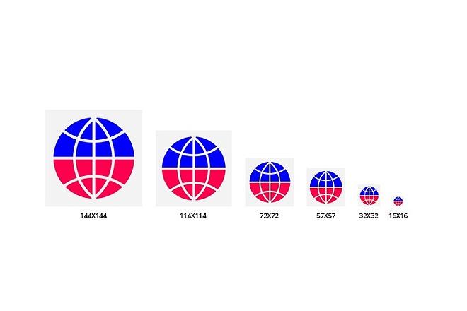 Сделаю иконку для сайта фавикон favicon 6 разных размеров 5 - kwork.ru
