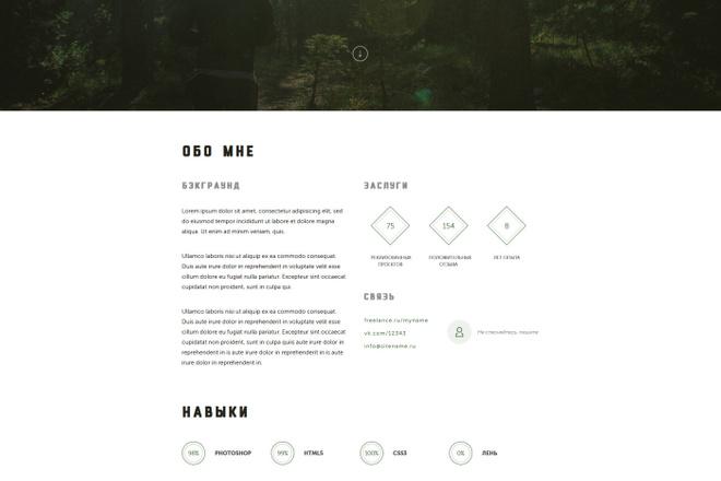 Верстка Landing Page по PSD, XD, AI или Figma макету 9 - kwork.ru