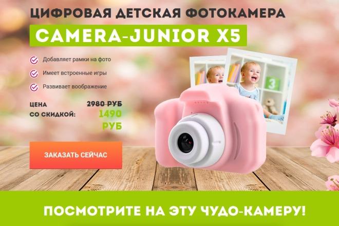 Копии двух лендингов из каталогов товарных CPA за 500 рублей 12 - kwork.ru
