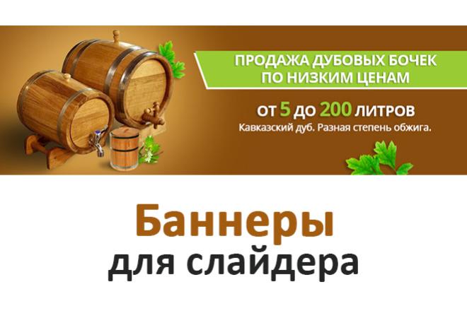 Разработка статичных баннеров 11 - kwork.ru