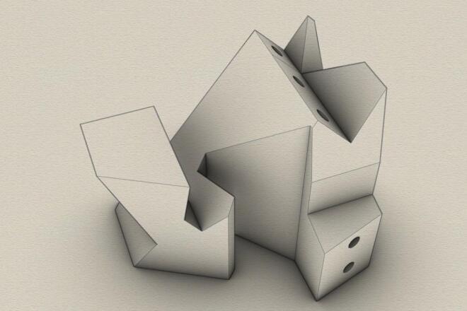 3d модель для печати любой сложности 7 - kwork.ru