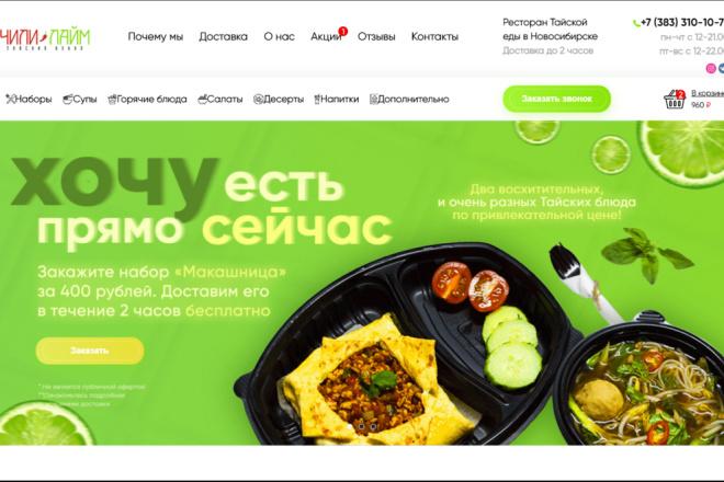 Верстка, Адаптация HTML, CSS, JS из PSD 4 - kwork.ru