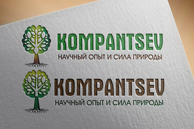 Эффектный логотип 130 - kwork.ru