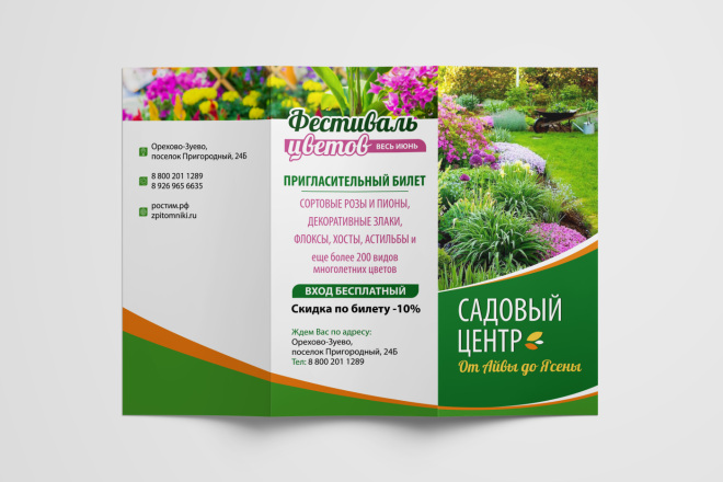 Дизайн брошюры, буклета 15 - kwork.ru