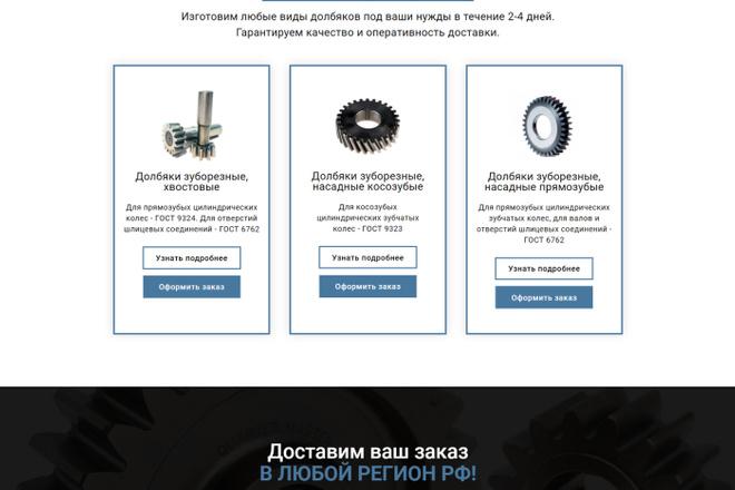 Создам продающий Landing Page под ключ 17 - kwork.ru