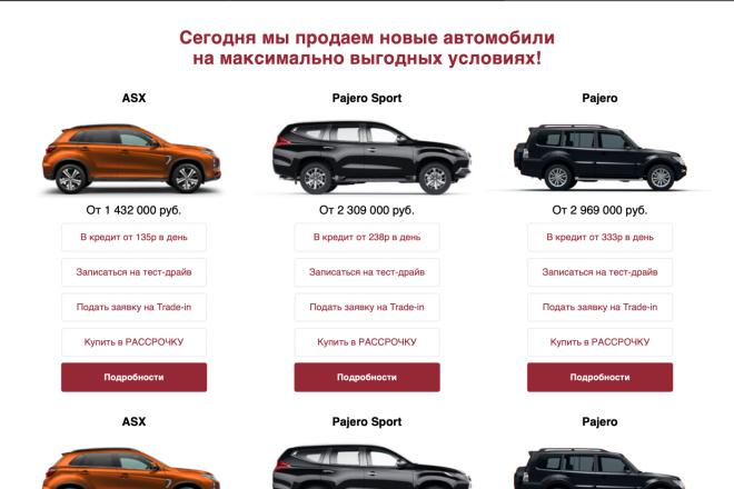 Вёрстка сайтов по доступной цене 5 - kwork.ru