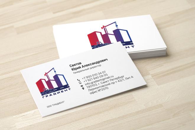 Дизайн визитки с исходниками 27 - kwork.ru