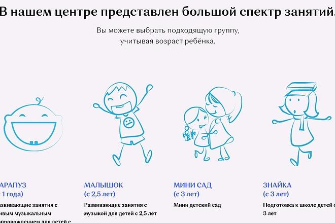 Создание сайта - Landing Page на Тильде 7 - kwork.ru