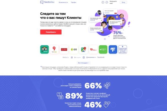Вёрстка сайтов по доступной цене 51 - kwork.ru