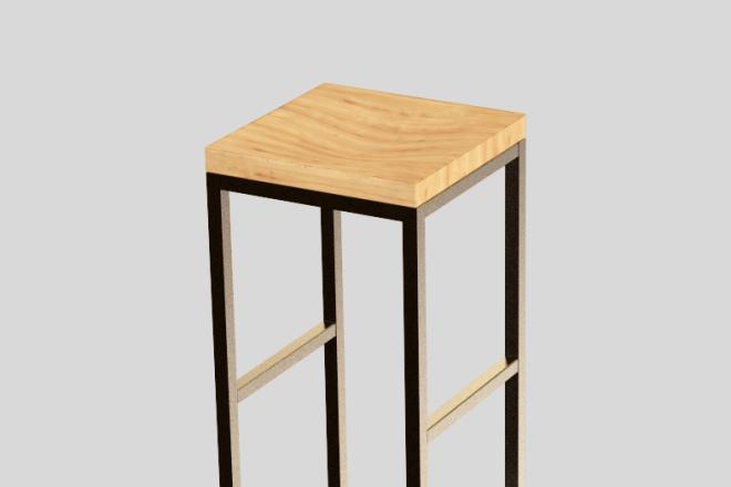 Моделирование мебели 47 - kwork.ru