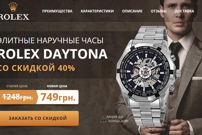 Качественная копия лендинга с установкой панели редактора 8 - kwork.ru