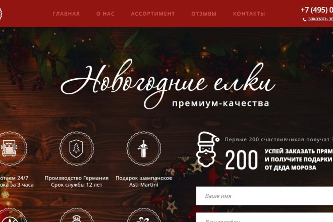 Копия товарного лендинга плюс Мельдоний 28 - kwork.ru
