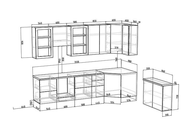 Конструкторская документация для изготовления мебели 122 - kwork.ru