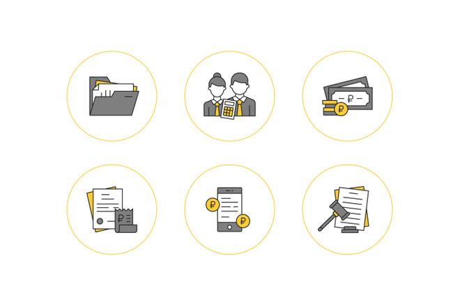 Создание иконок для сайта, приложения 11 - kwork.ru