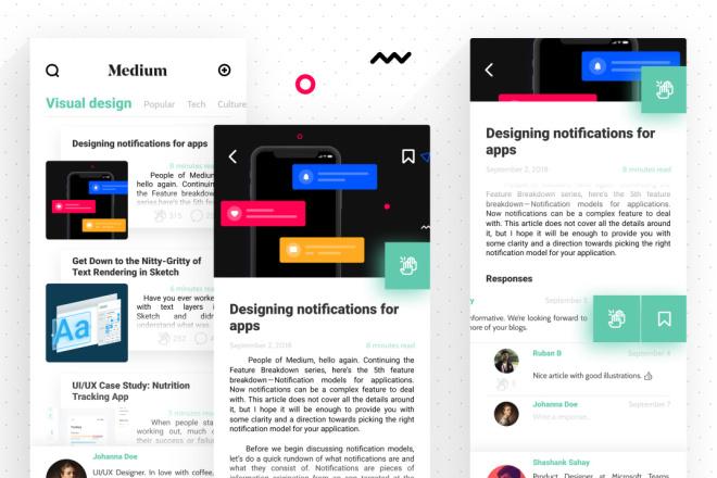 Дизайн Вашего приложения. iOS и Android 27 - kwork.ru