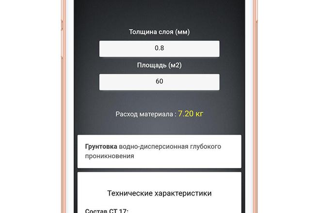 Разработка мобильного приложения под ключ 14 - kwork.ru