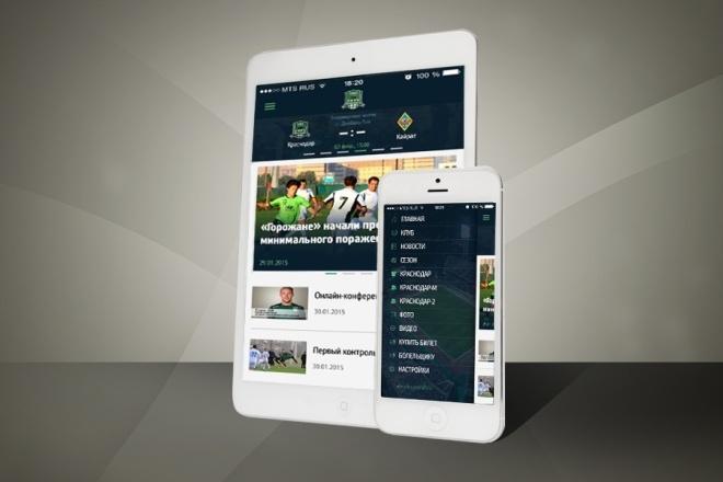 Создам приложение для сайта на Android 3 - kwork.ru