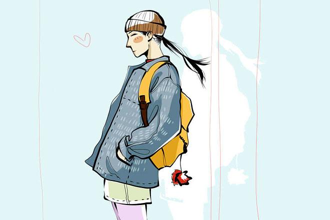 Fashion иллюстрация 3 - kwork.ru