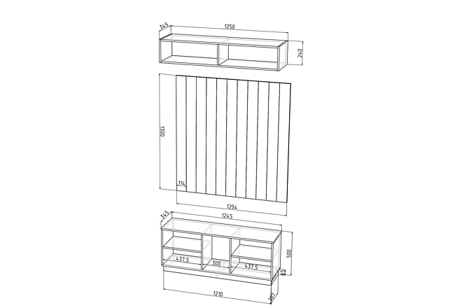 Конструкторская документация для изготовления мебели 101 - kwork.ru
