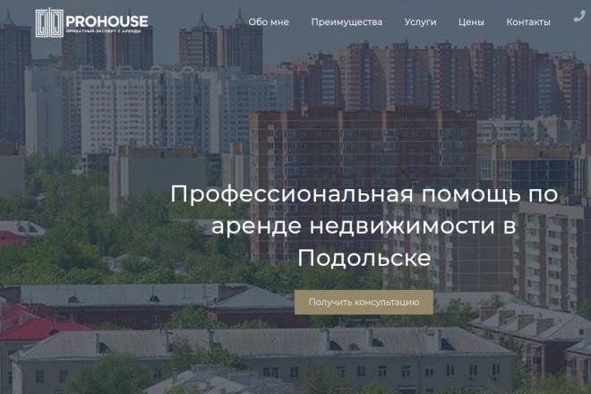 Скопирую Landing page, одностраничный сайт и установлю редактор 25 - kwork.ru