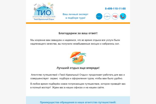 Создание и вёрстка HTML письма для рассылки 6 - kwork.ru