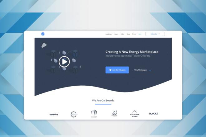 Сделаю дизайн страницы сайты 3 - kwork.ru