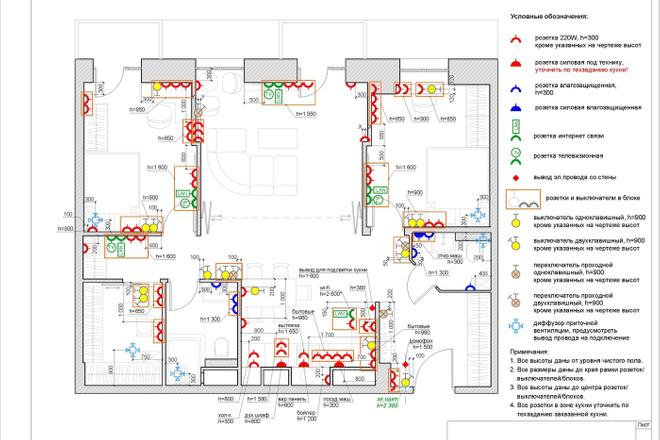 Планировочное решение квартиры, дома. Перепланировка. Планировка 27 - kwork.ru