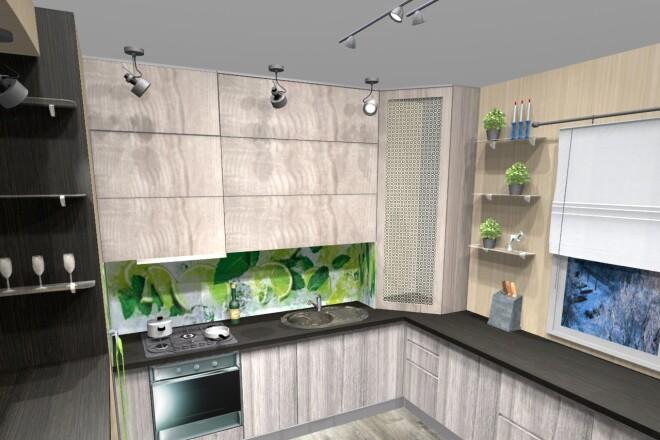 Проектирование корпусной мебели 16 - kwork.ru