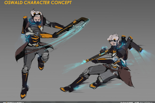 Концепт арт и Дизайн персонажа 12 - kwork.ru