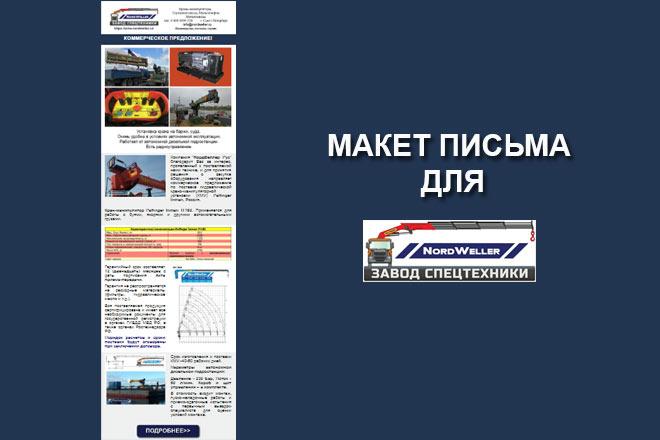 Создам html письмо для e-mail рассылки -адаптация + дизайн 46 - kwork.ru