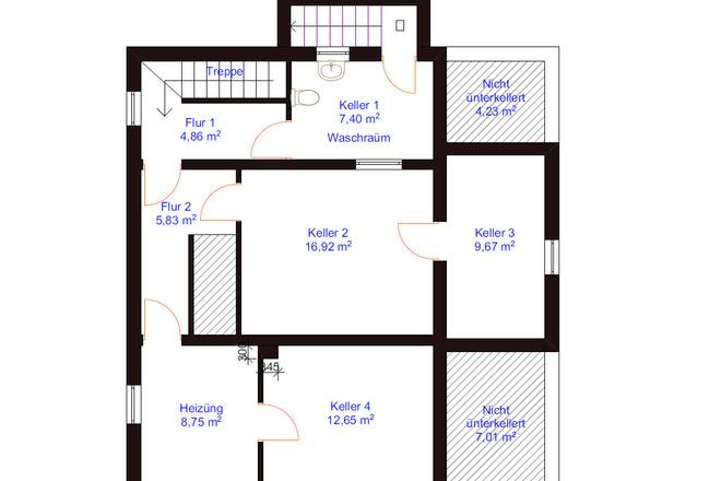 Оцифровка плана этажа, перечерчивание плана дома в Archicad 4 - kwork.ru