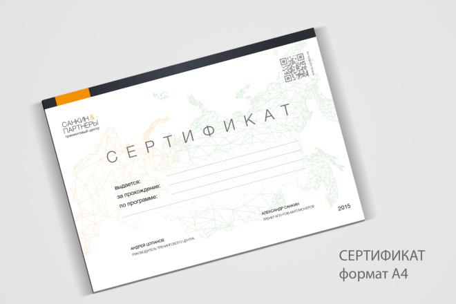 Дизайн сертификата, купона, подарочной карты для товара или услуги 3 - kwork.ru