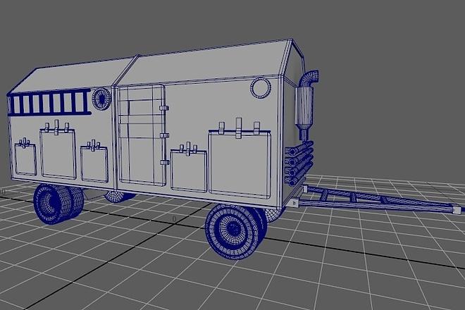 Сделаю 3д модель 19 - kwork.ru