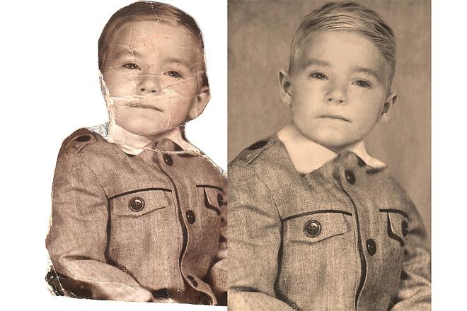 Реставрация старых фото 15 - kwork.ru