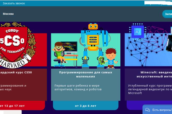 Скопирую страницу любой landing page с установкой панели управления 4 - kwork.ru
