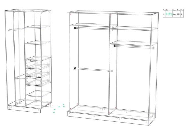 Конструкторская документация для изготовления мебели 31 - kwork.ru