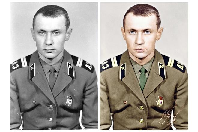 Реставрация фотографии 2 - kwork.ru
