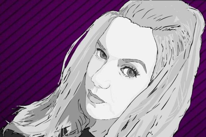 Нарисую портрет по фотографии 6 - kwork.ru