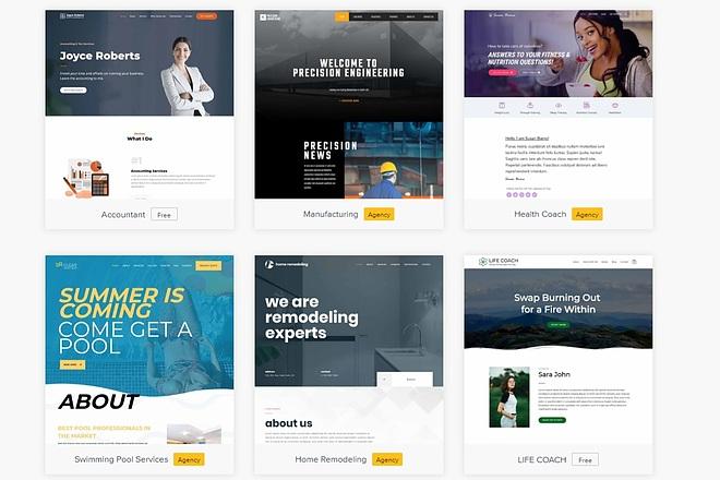 ПАК 1000 шаблонов и дополнений для WordPress 52 - kwork.ru