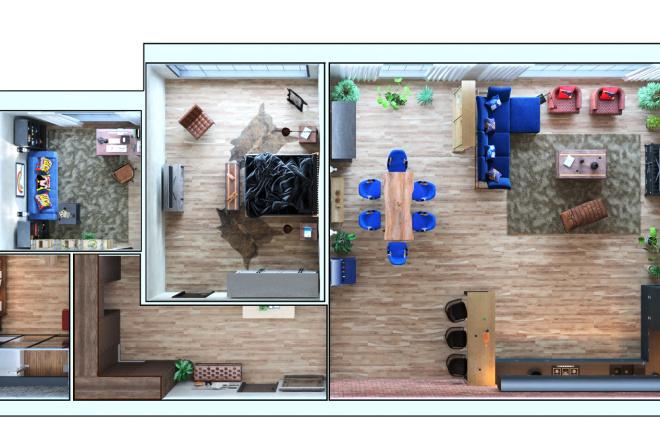 3D-визуализация интерьеров 16 - kwork.ru