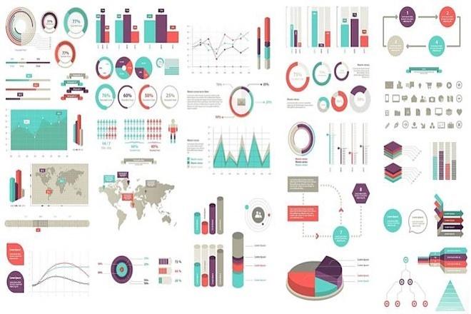 2800 шаблонов для создания инфографики 9 - kwork.ru