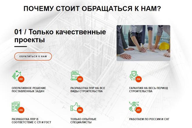 Создам продающий Landing Page под ключ 23 - kwork.ru
