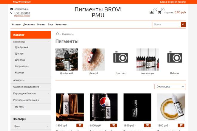 Профессионально создам интернет-магазин на insales + 20 дней бесплатно 21 - kwork.ru