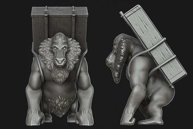 Создам 3D модель для печати или чпу 22 - kwork.ru