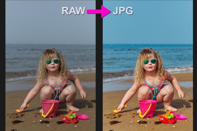 Для проф. фотографов - конвертация фото из RAW в JPG, 100 штук 16 - kwork.ru