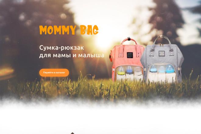 Дизайн Landing Page в PSD или Figma 22 - kwork.ru
