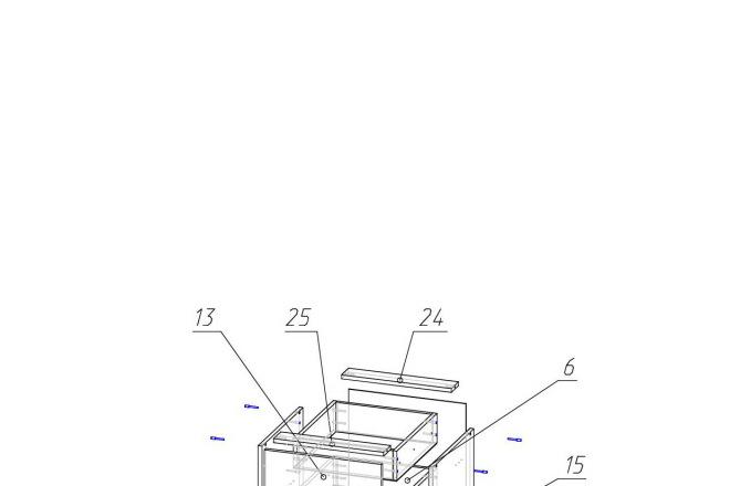 Конструкторская документация для изготовления мебели 140 - kwork.ru